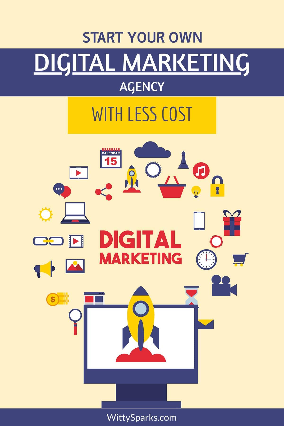 Start Digital Marketing Business with zero cost