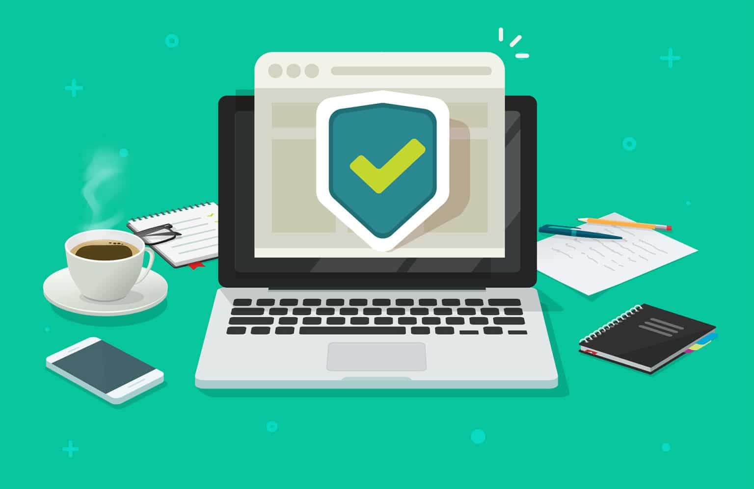 Website online protection shield