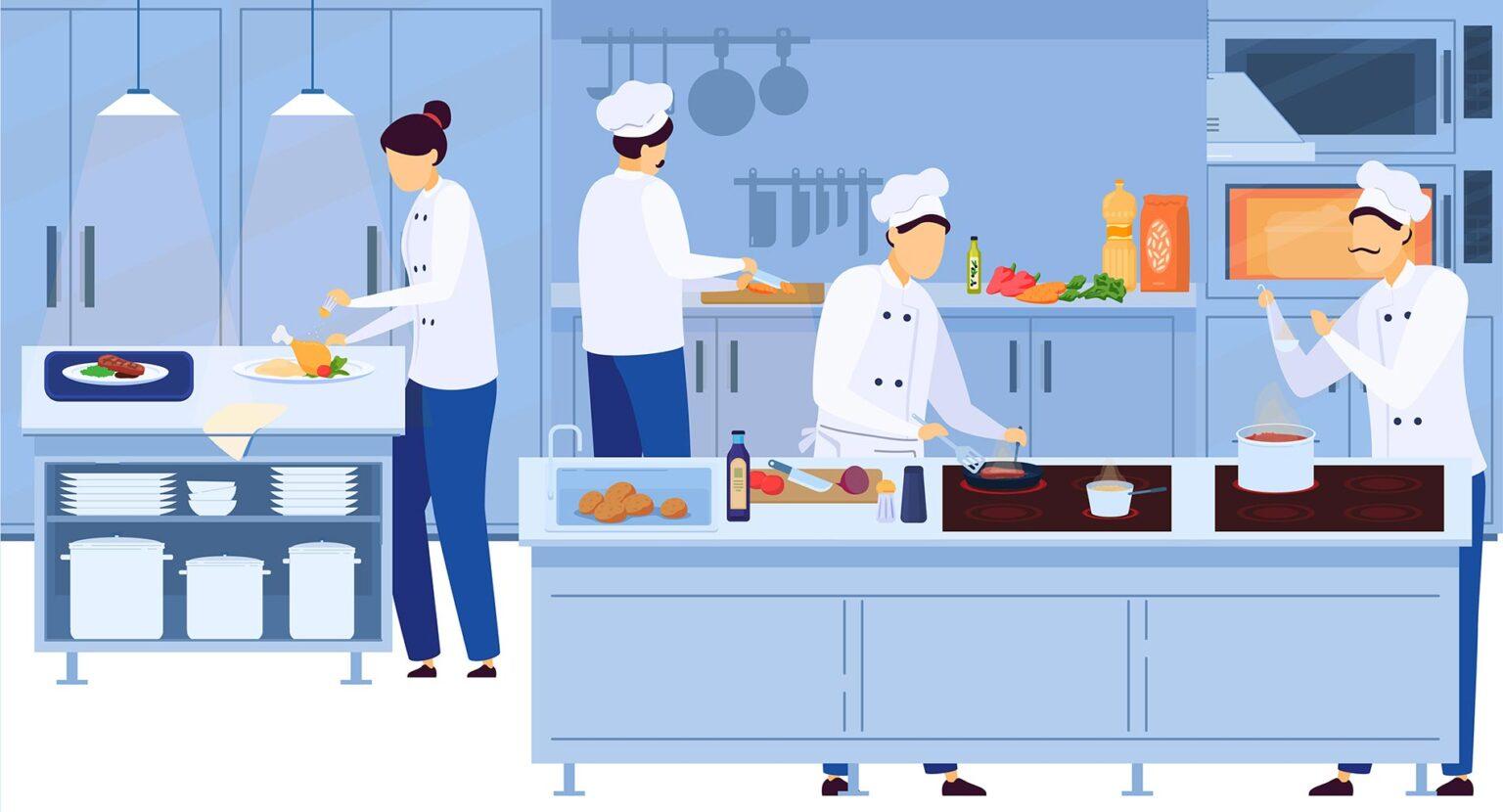 Cloud kitchen or ghost restaurant model