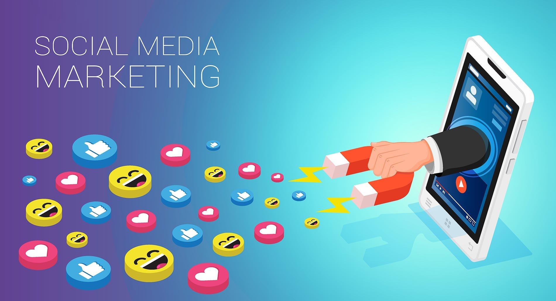 Generating leads through social media marketing