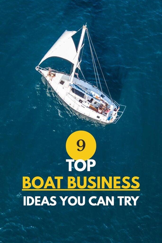 Top boat busiiness ideas