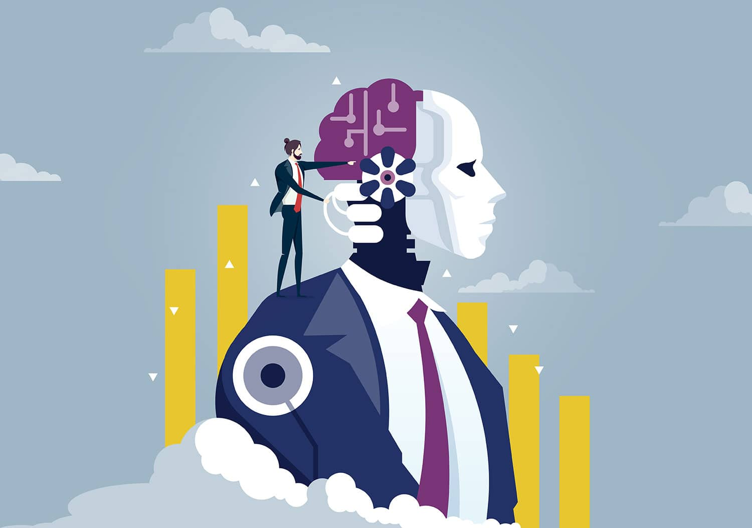 Artificial Intelligence improves business efficiency