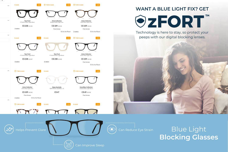 Blue light glasses - SmartBuyGlasses