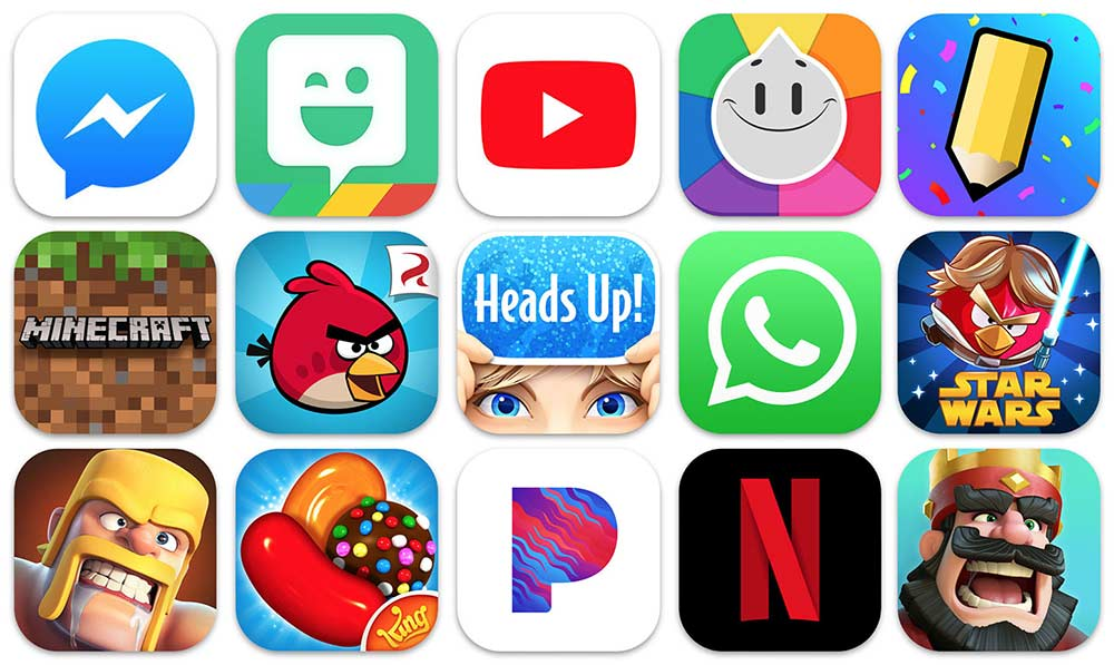 Video streaming and gaming apps