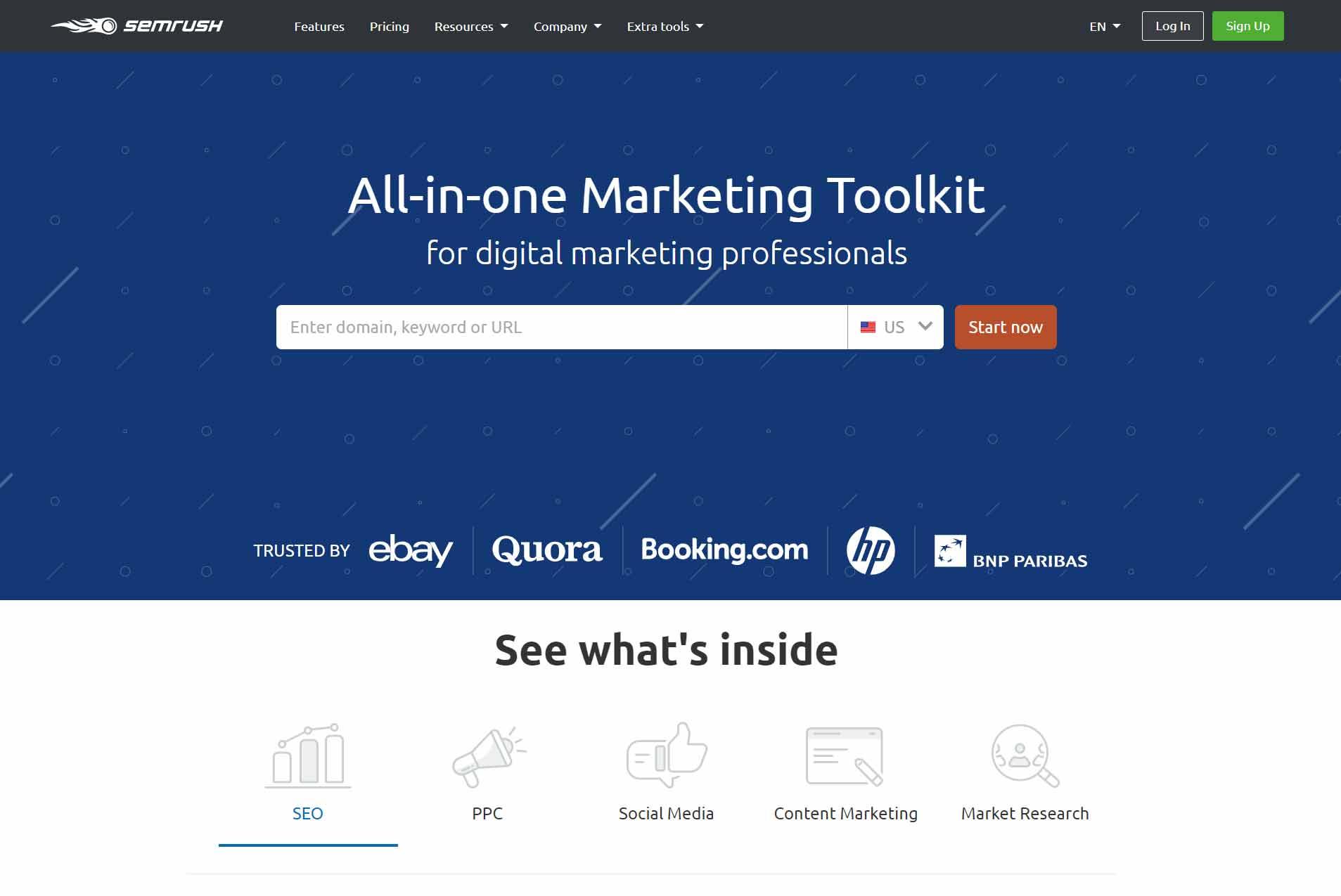 SEMrush Marketing Tools