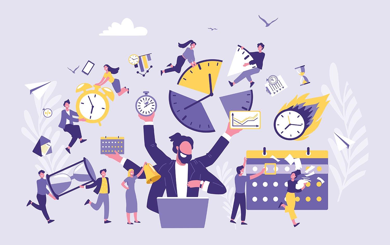 Timesheet time management