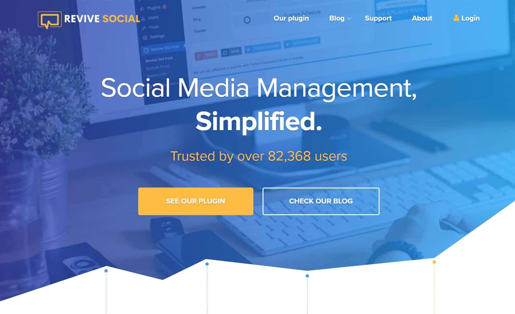 Revive Social - Social media management tool