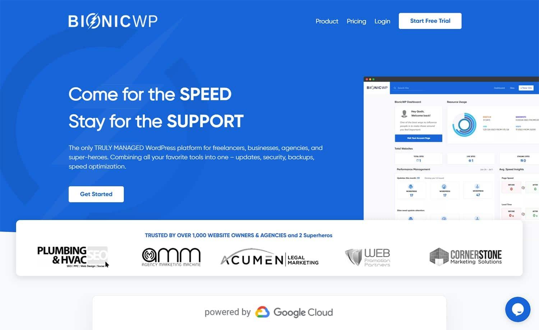 BionicWP - Managed WordPress Hosting
