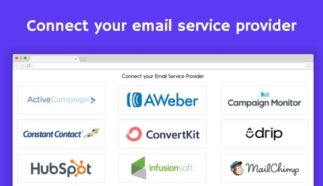 Mailfloss Integration - Connect your email service provider