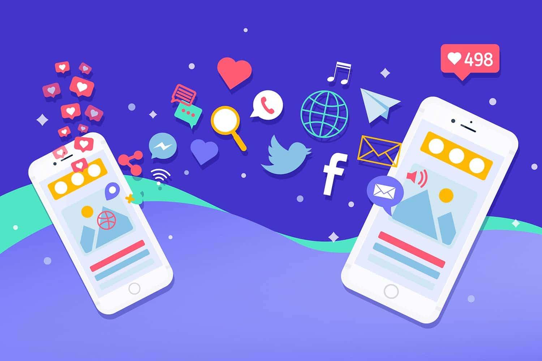 Social networking app benefits