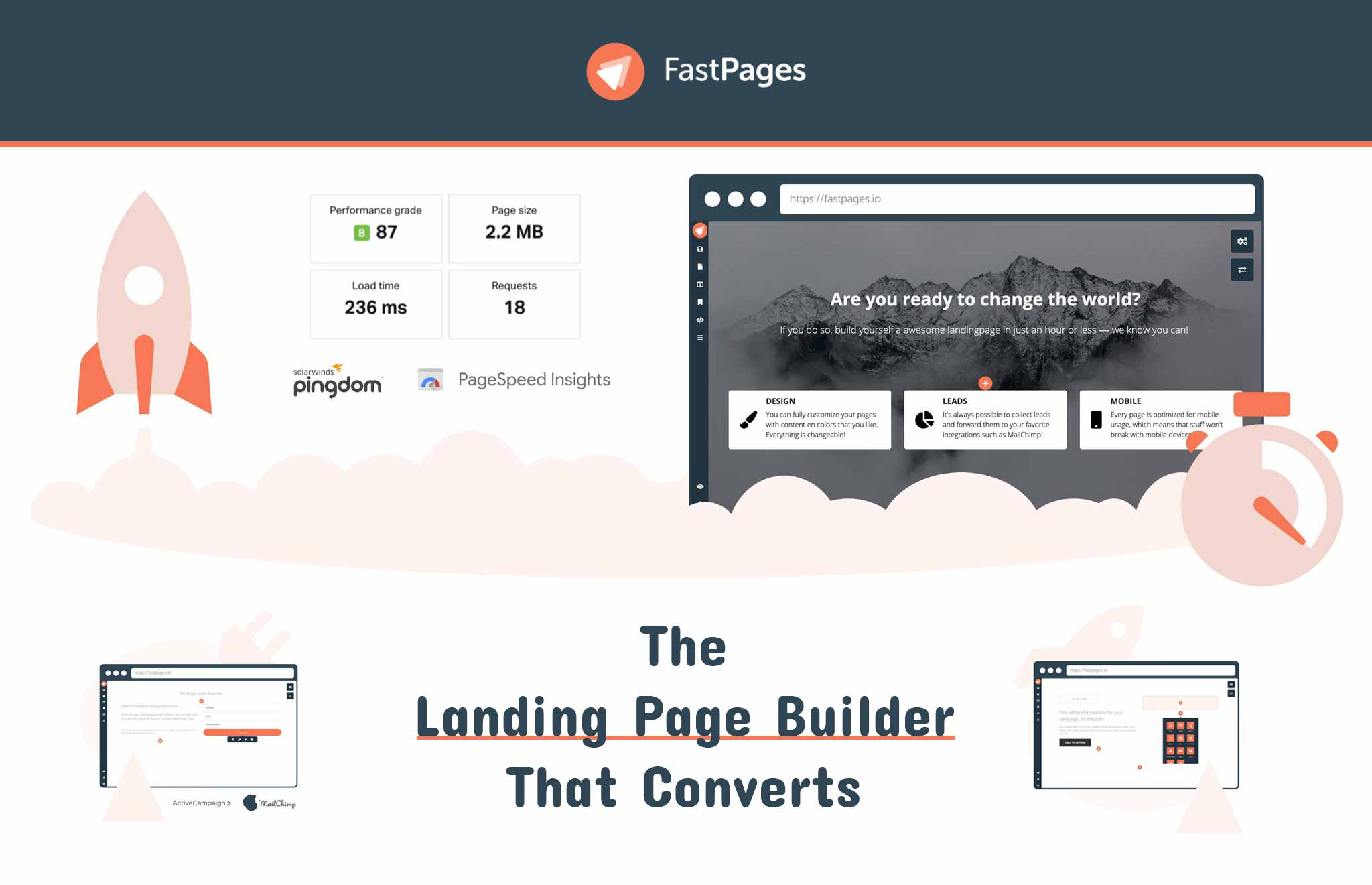 Fastpages - The landing page builder that converts