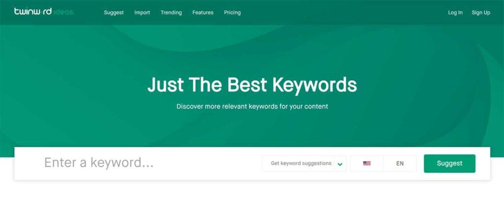 TwinWord - Keyword Ideas