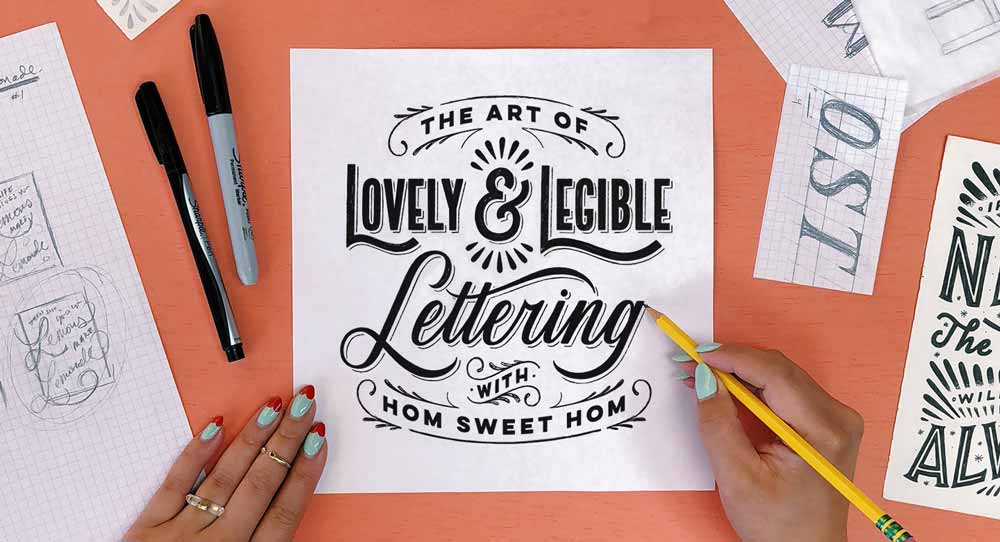 Art of lettering online course