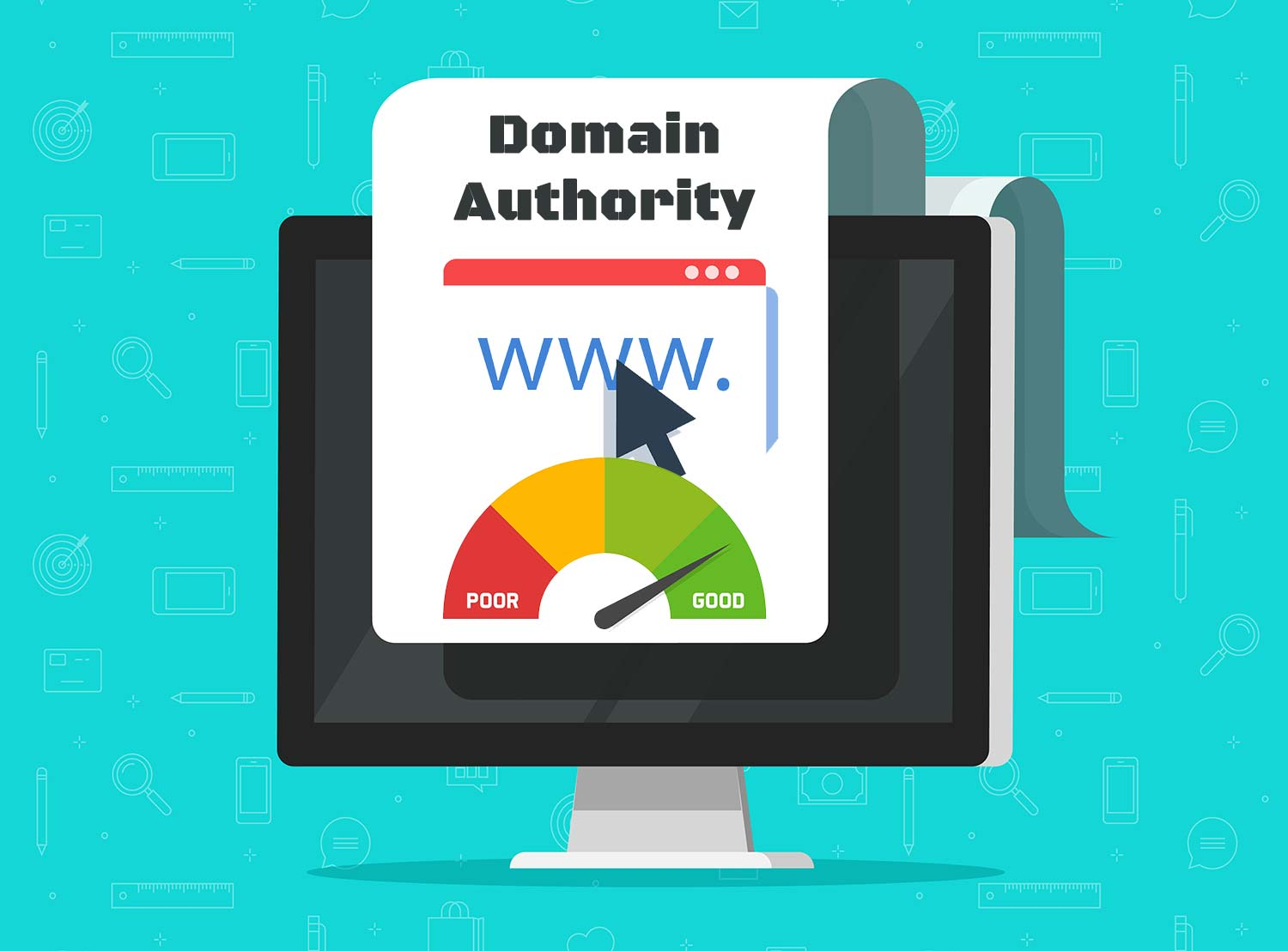 How is domain authority calculated?