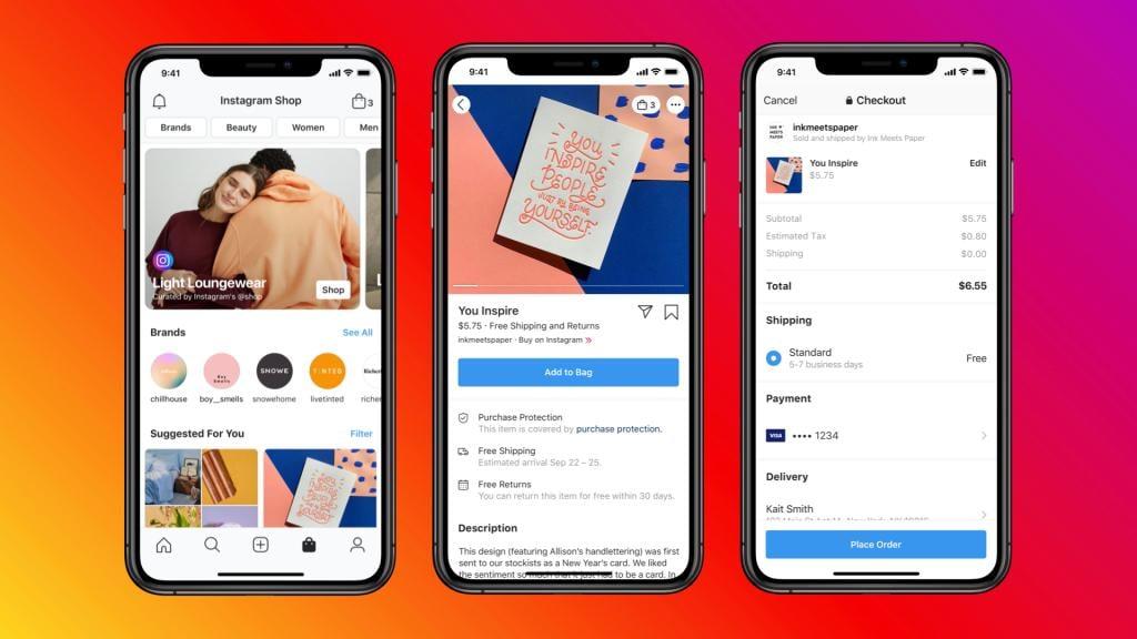 Instagram shoppable feeds - Shopify