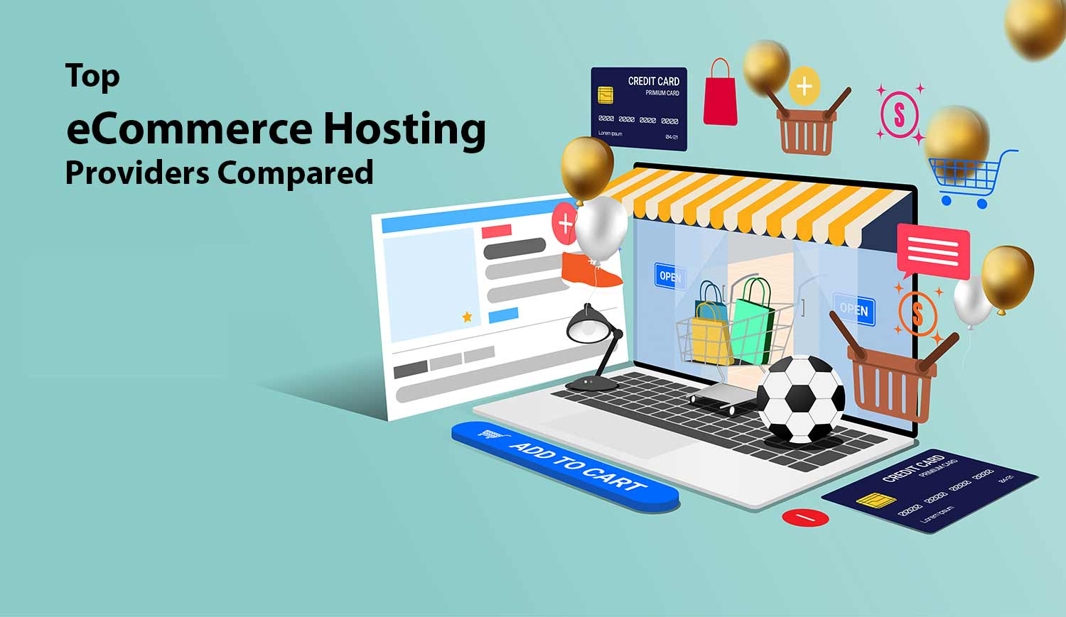 eCommerce hosting providers compared