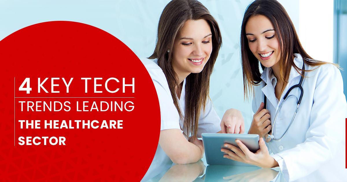 Key tech trends in healthcare