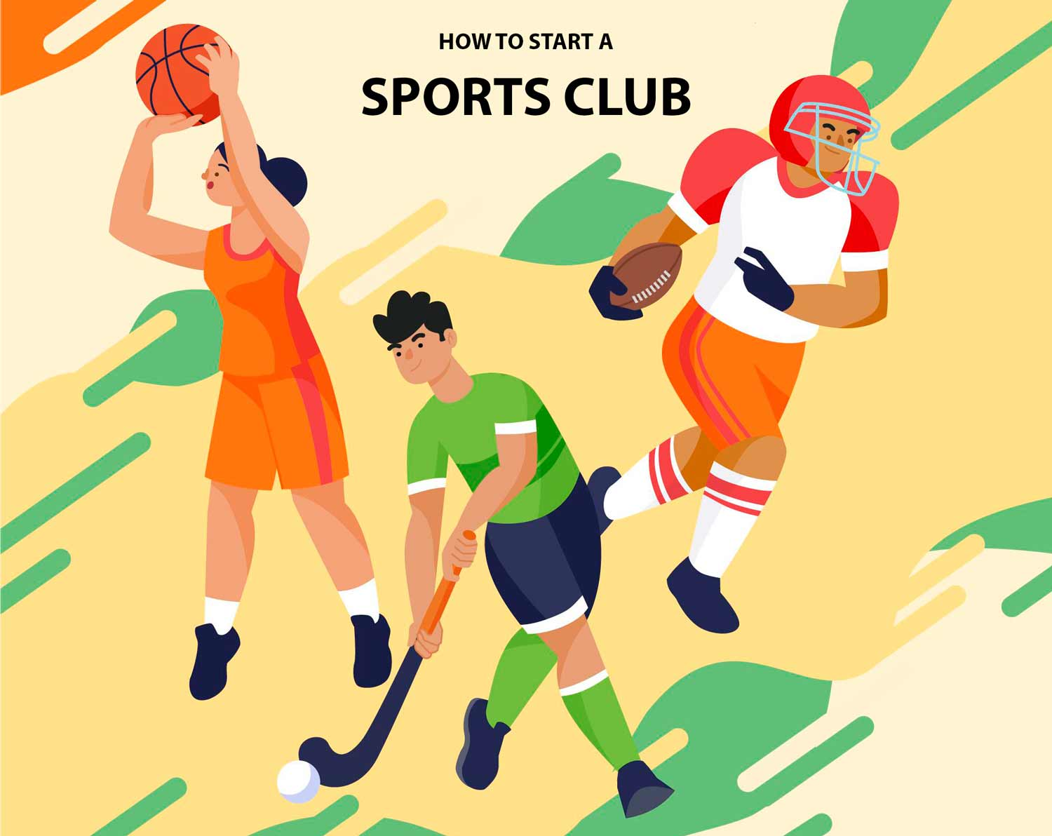 How to start a sports club