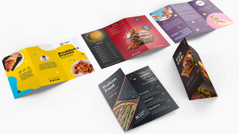 Presentation folders brochure