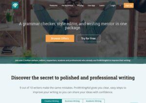 prowritingaid grammar checker writing tool
