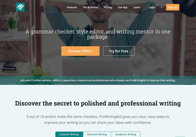 ProWritingAid - Grammar checker and writing tool