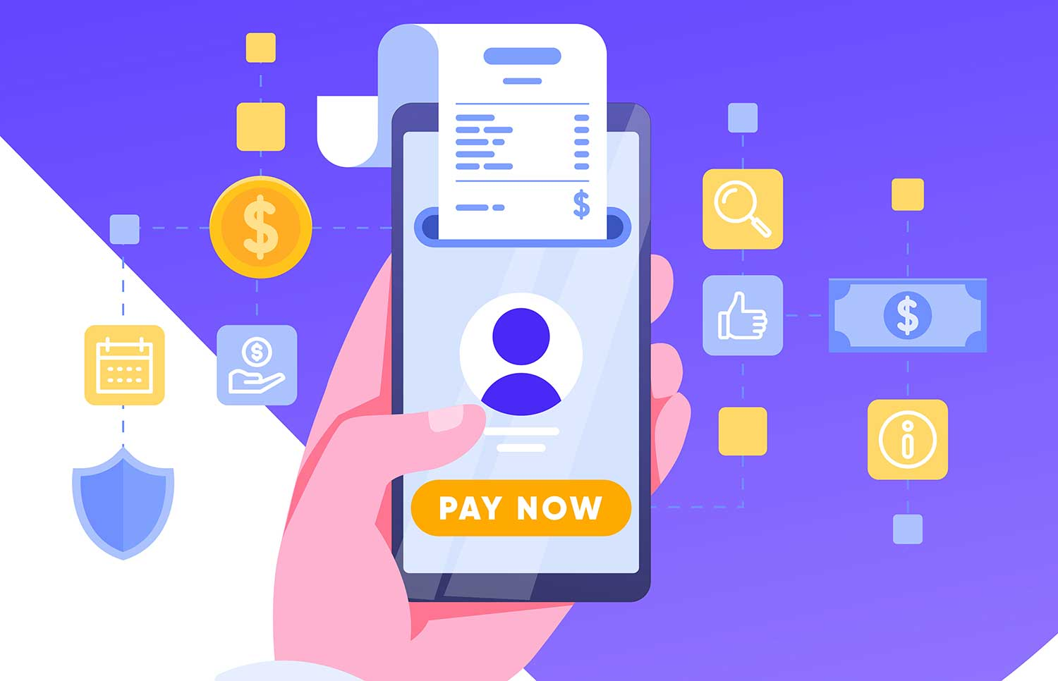 On the go - online bill payments