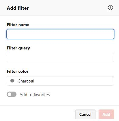 Todoist add filters