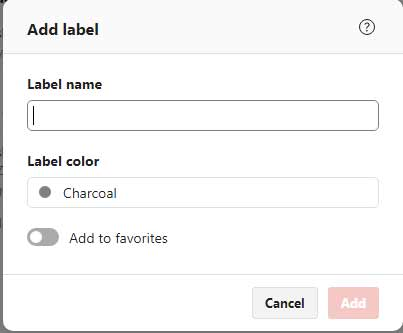 Todoist add labels